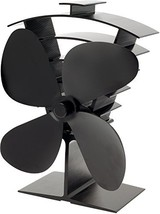Valiant FIR361 Premium 4 Heat Powered Stove Fan, Satin Black - $51.64