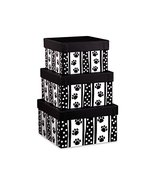 Polka Dot Paws Nested Boxes3 Piece Square Matte Gift Boxes (5 unit, 1 pa... - $61.95