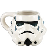 STAR WARS Stormtrooper Sculpted Coffee Cup Boxed Ceramic 18 oz Mug New - €14,43 EUR