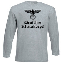 Deutches Africakorps - New Cotton Grey Tshirt - $21.49