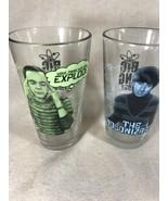 The Big Bang Theory - 2 Glasses 16 oz - Sheldon And Howard - Warner Brot... - $13.78