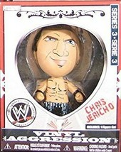 Chris Jericho 2008 WWE Vinyl Aggression Figure NIB Series 3 JAKKS Pacific - $14.84