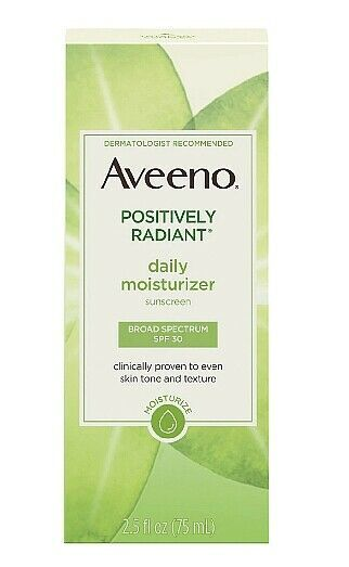 Primary image for Aveeno Positively Radiant Daily Moisturizer With Soy SPF15 Skin rejuvenate