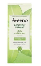Aveeno Positively Radiant Daily Moisturizer With Soy SPF15 Skin rejuvenate - $13.64