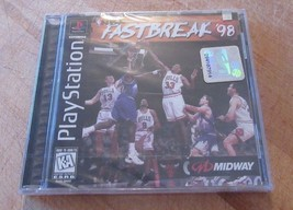 NBA Fastbreak '98 (Sony PlayStation 1) Brand New - $24.74