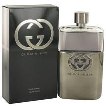Gucci Guilty Pour Homme 5.0 Oz Eau De Toilette Cologne Spray image 4