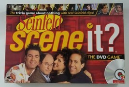 Seinfeld Scene It DVD Board Game 2008 Mattel EUC NEW Open Box - $17.75