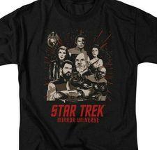 Star Trek Mirror Universe Parallel Universe Sci-Fi graphic t-shirt CBS2228 image 3
