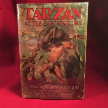 Edgar Rice Burroughs TARZAN AT THE EARTH'S CORE/1st  Nice Jacket - $343.00