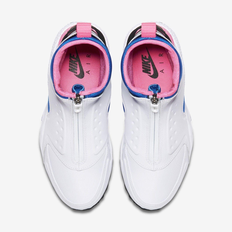 5449403219f3 NIKE AIR HUARACHE RUN MID 807313-100 White Black Soar Pink Pow Womens Size  11