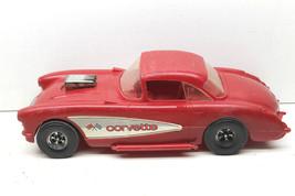 Rare Vintage 1/12 Scale Tootsietoy Plastic 1957 Chevy Chevrolet Corvette... - $35.52