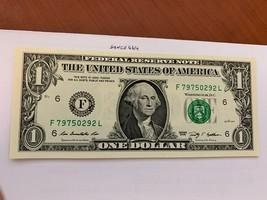 United States Washington $1.00 uncirc. banknote 2009  #1 - $6.50