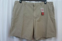 Alfani Mens Shorts Sz 44 Solid Loden Green Slim Fit Cotton Casual Short - $24.18