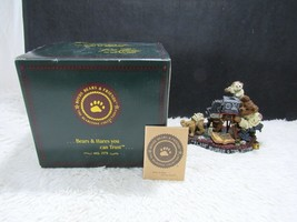 1999 Boyd's Resin Flash McBear and The Sitting Collectible Figurine, Dec... - $12.95