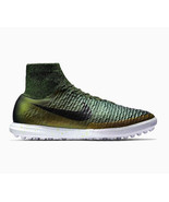 NIKE MAGISTA X PROXIMO TF TURF SOCCER SHOES CITRON GREEN/BLACK NEW (718359-301) - $78.95
