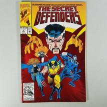 Marvel Comic Book The Secret Defender Vol 1 #1 Mar 1993 Parallel Red Comic Book - $11.55