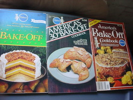 PILLSBURY BAKE-OFF #29, #30 & #31 COOKBOOKS LOT OF 3 FREE USA SHIP - $9.49