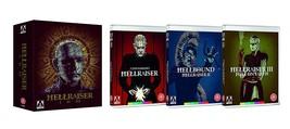 Hellraiser Trilogy - Arrow Video Region B Import [Blu-ray] - $59.95