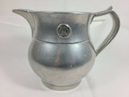 Vintage Wilton Armetale Pewter Plough Tavern 48 Ounce Water Pitcher Liberty Bell - $99.99