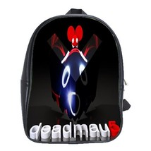 Backpack School Bag Deadmau5 Logo Symbol Sing A Song House Music Additions Game  - $33.00