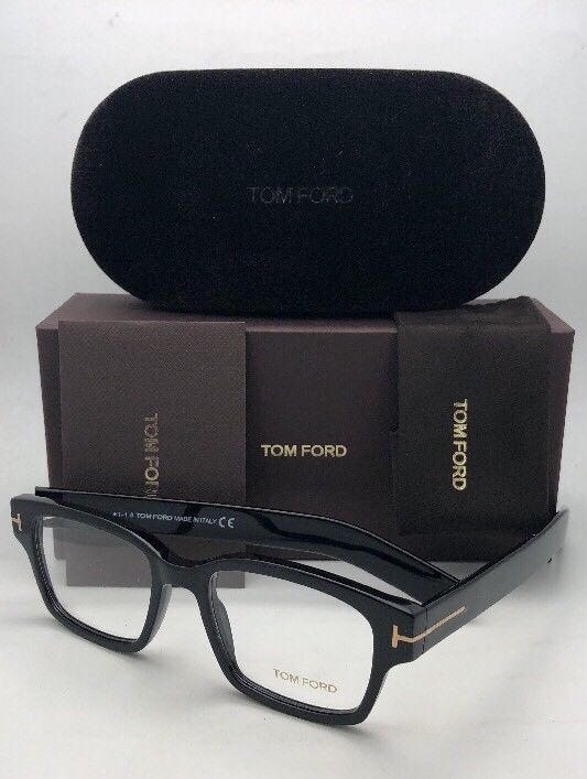 8347e425b249 New TOM FORD Eyeglasses TF 5527 001 50-18 and 50 similar items
