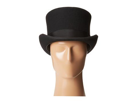 Scala Classico Men's Wool Felt English Topper Hat, Black, X-Large