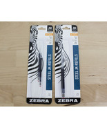 LOT OF 2  Zebra Ballpoint Pen JK Refills G Series Blue Gel Ink Med Point... - $9.99