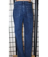 "LEE at the Waist Women's 12 Short Relaxed Straight Leg Denim Jeans 29"" I... - $25.15"