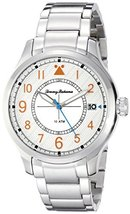 Tommy Bahama Men's 10022437 Island Scout Analog Display Japanese Quartz Silver W