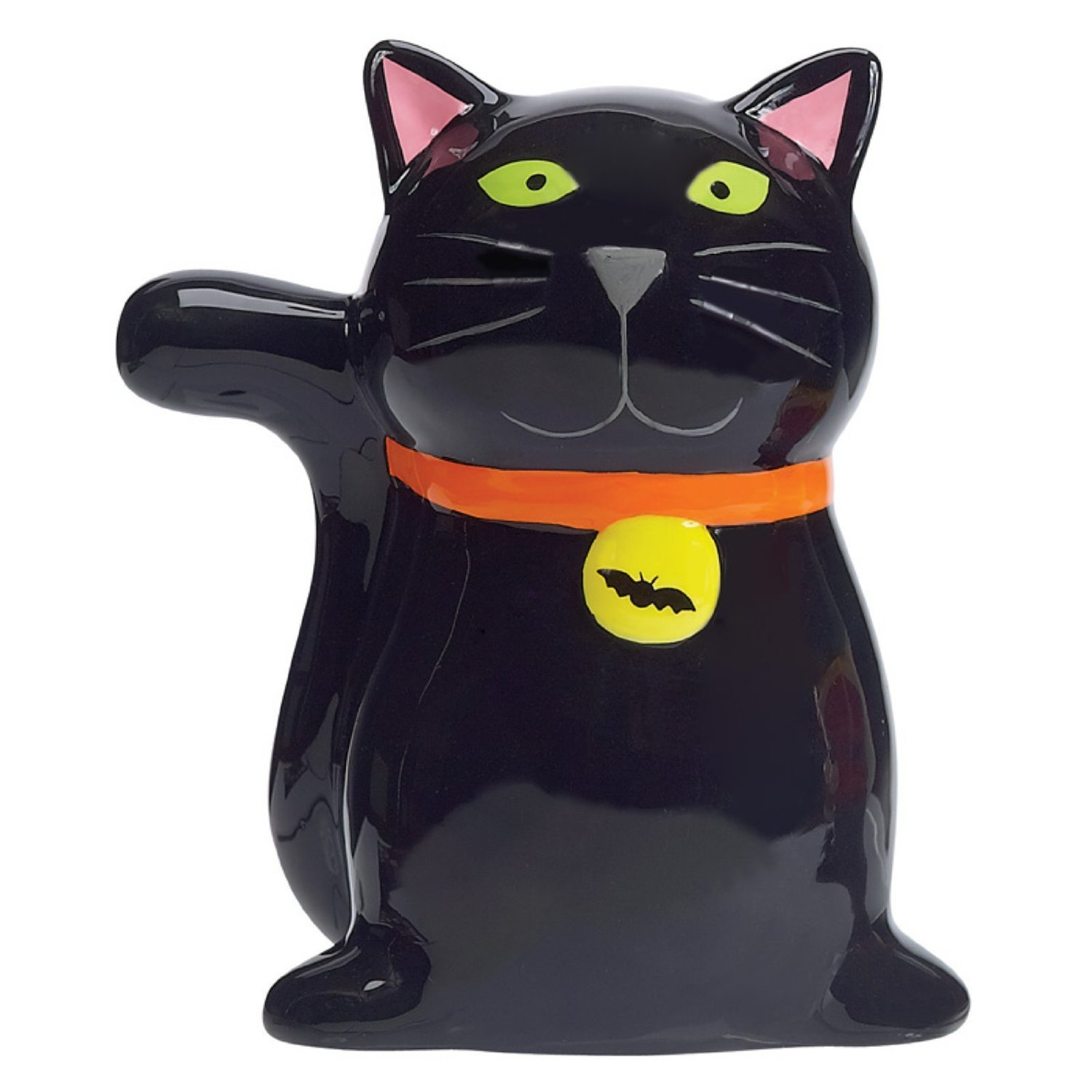 "Halloween Black Cat ""Witch's Brew"" Scrubby Holder"