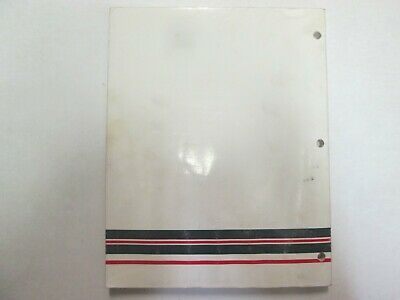 1994 Force Outboards Technicians Handbook Manual WATER DAMAGED WORN OEM image 5