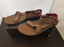 NIB Teva Size 12 Mens Original Universal Workwear Sandal Stone Gray 1008... - $38.53 CAD