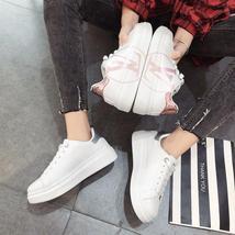 Autumn new small white shoes female Korean version of the platform sport... - $29.55