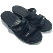 CROCS Womens Sandals Size 11 M Black - $21.87