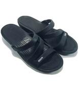CROCS Womens Sandals Size 11 M Black - $21.87