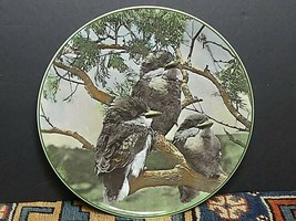 Vintage Royal Doulton Translucent TC 1062 Young Kookaburras Plate MINT - $12.97
