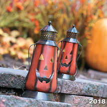 Fun Express Jack O Lantern Metal Lanterns - 2 Pieces - $28.11