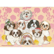Shih Tzus Fleece Blanket - $39.95