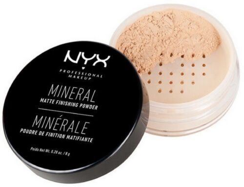 Primary image for NYX Mineral Matte Finishing Powder 0.28 oz Light / Medium