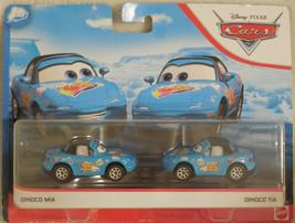 DISNEY PIXAR CARS 2019 DINOCO DAYDREAM BLUE DINOCO MIA AND DINOCO TIA 2 ... - $15.79