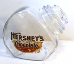 Vintage Hershey Chocolate Glass Canister Jar with Lid - $8.19