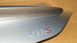 08-13 Infiniti G37 Coupe Rear Trunk Lid Tail Gate W/ Spoiler & Back-Up image 7