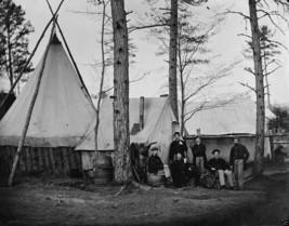 Union Army Potomac Provost Marshal Clerks Brandy Station 8x10 US Civil War Photo - $6.61