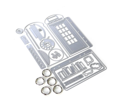Phone Booth Special Kit.  Elizabeth Craft Designs . NEW!