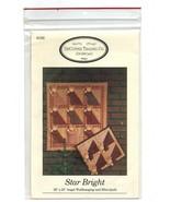 1992/Star Bright/Angel Wall Hanging-Mini Quilt UNCUT Pattern - $3.99