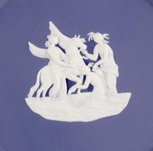 Unicorn Wedgwood tray - ENGLAND dish - wedding jewelry keepsake - Blue J... - $65.00