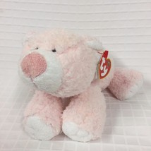 "EUC TY BABY 9"" Ty Cubby Cuddles Pink PLUFFIES Plush 2005 Soft LOVEY TyLux - $14.21"