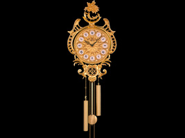 Soher  Bronze Wall Clock Spanish Handmade New in original box - $3,400.00
