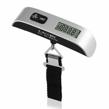 Digital Luggage Scale 110 Lbs Portable High Precision Travel Hanging Pos... - $11.12
