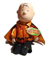 Charlie Brown Dracula--musical/Animated Plush--Gemmy 1997 - $24.99